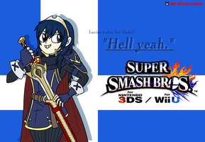 Lucina's in Smash Bros!! by monjava