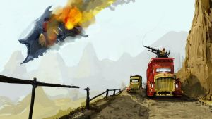 Speedpaint: Desert expedition by Pymous