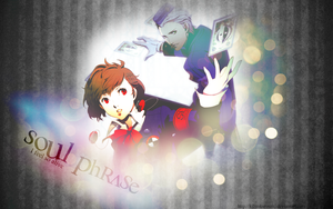 P3P Wallpaper - Soul Phrase by KibanKurosaki
