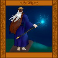 Commission- The Wizard by a0ka0neArt