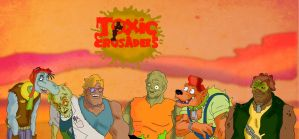 TOXIC CRUSADERS by Makinita