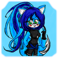 ::PC:: Sparkle_the_Fox by Nine-Roses