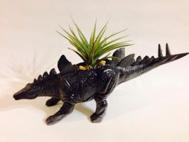 Stegosaurus Planter by CadmiumCrab