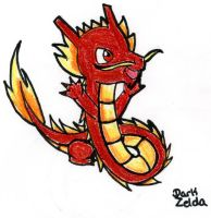 Chinese Fire Dragon by Zephyras-Lied