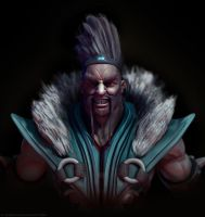 Draven. The Glorious Executioner by CRYart-UK