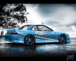 Nissan Silvia PS13 Drift by MartinDesign93