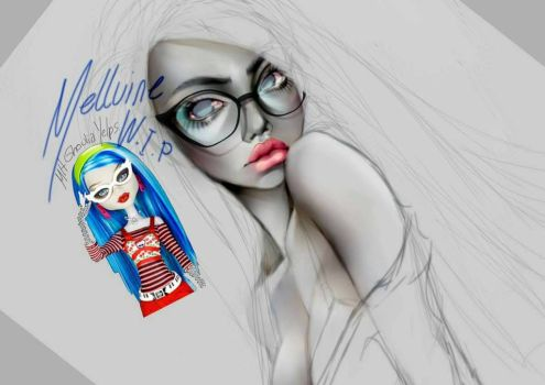 Monster High WIP by Mellvine