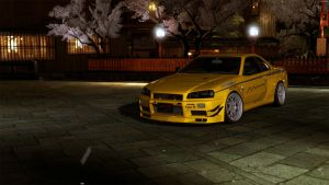 Mine's BNR34 GTR N1 '06 by HAYW1R3