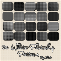 20 White Patterns by Sick by AndrogynousPunky