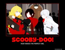 Scooby-Doo RWBY poster by Overlordflinx