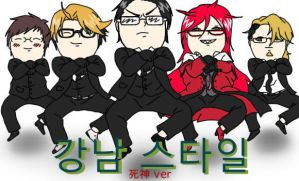 Shinigami Gangnam Style by ShieruChann