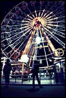 lady and the ferry wheel by rosco-the-third