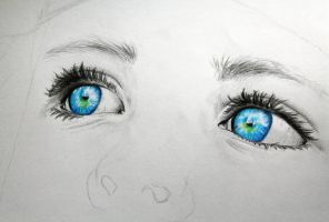 WIP - The eyes of a child by LucaHennig