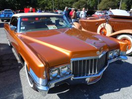1970 Cadillac Coupe DeVille Convertible II by Brooklyn47