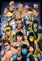 MK original cast by Sw-Art