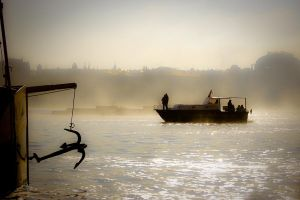 Morning on the River I by kereszteslp