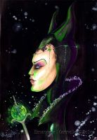 Maleficent by Bells-Art