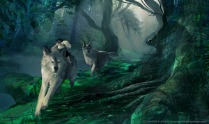 Princess Mononoke - In the Forest Part 3 by waLek05