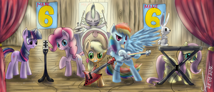 group Mane 6 by 1Vladislav
