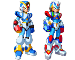 First and Second Armor by ultimatemaverickx