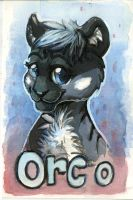 Orco Badge Painting by OrcaOwl