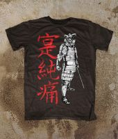 Samurai Skeleton Warrior T-Shirt 'Black' by Oblivion-design