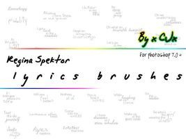 Regitext Brushes by xCJx