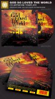 God So Loved The World CD Artwork Template by loswl