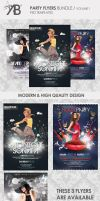 Party Flyers Bundle Volume 1 by outlawv15
