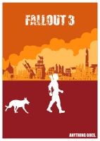 Fallout 3 poster by SkyWooper