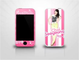 Sooyoung iPod Touch Decal by soshified