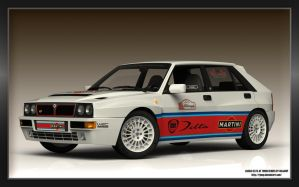 Lancia delta HF Turbo render1 by RJamp