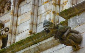 Brussel Gargoyle by Art-and-books