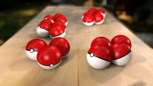 Pokeballs - Composited by PeregrineStudios