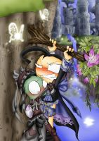 $ Bad luck by Itami-the-pain by Z-A-D-R