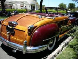 1946 Chrysler Town and Country Convertible quarter by RoadTripDog