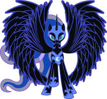 Princess of the Nightmare by somekindahatebreeder
