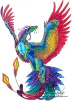 Yao Chi: the rainbow dragon by silvermoonnw