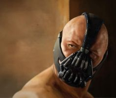 Bane portrait by calhaley