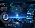 Hi-Tech Desktop Rainmeter for all windows by takeshikawa