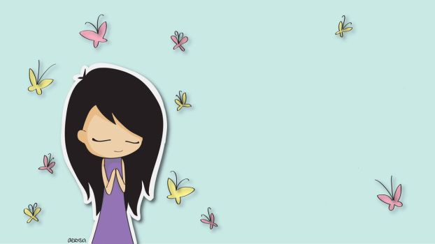 Peace and Butterflies by Aerysia