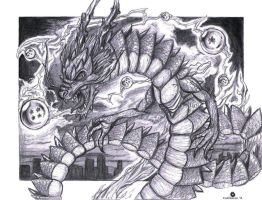 Shenlong, the Eternal Dragon by hamsterSKULL