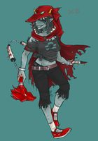 Post-Apocalypse Terezi by robotRainbows