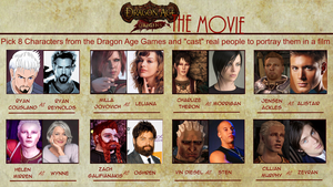 the dragon age movie meme cast by kylemallory