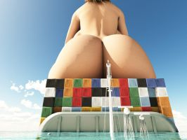 Vue giantess 10 by nyom87
