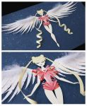 Sailor Moon Transformation by littlepaperforest