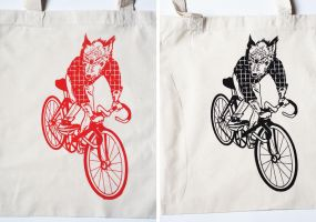 Bags: Singlespeed Wolf by sirwen