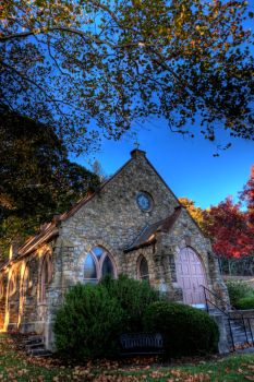Wooded Chapel 1 by DreAminginDigITal
