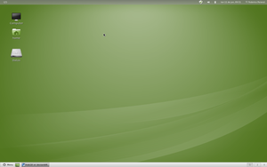 Linux Mint 12 by fede18