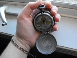 Chameleon arch fob watch by Eisoptrophobic-stock